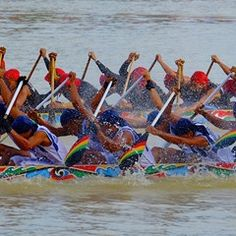 Long Boat Racing in Riau - Indonesia