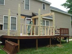 screened in decks Screened In Deck, Barns Sheds, Garages, Decks, Rooms, Cabin, House Styles, Outdoor Decor, Home Decor