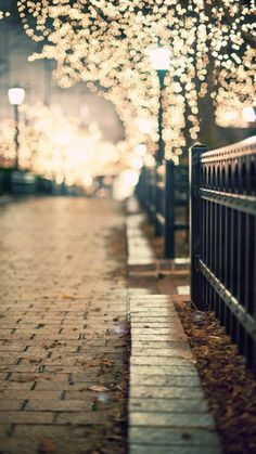 lights in chicago. Bokeh done right.