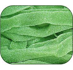 Green Apple Sour Power Belts Candy: 3KG Bag