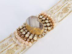 #boho #bohemian # wedding #bohowedding #hippie #hippiewedding #bracelet https://www.etsy.com/uk/listing/501586102/boho-wedding-bracelet-beige-cuff?ref=shop_home_active_14