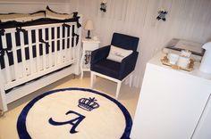 quarto de bebe masculino azul marinho - Pesquisa Google