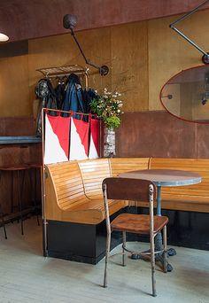 Navy Restaurant for Design*Sponge (photographs by Max Tielman) #designsponge #navy #nyc