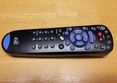 DISH NETWORK 4.0 #2 UHF/IR Pro 322 REMOTE CONTROL 132577 TV2 Blue Chip Key Tab