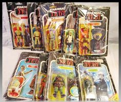 9pc Lot Vintage ROTJ 1983 Action Figures Star Wars