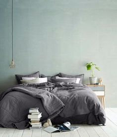 Nice color on that wall. Maybe for the new house? Or be a dare devil and change the wall in the shared bed/living room?