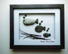 Personalised Pebble Art Custom Pebble Art by PebbleRoadStudio