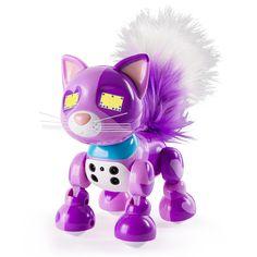 ZOOMER Interactive LOVE Meowzies Kitten  JEWELS SPARKLES Kitty Robot Cat