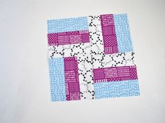 Sew a Simple Rail Fence Quilt Block With Pre-Cuts