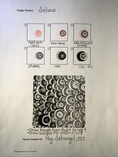 Soluna Tangle by Pegi Schargel, CZT