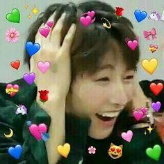 《 NCT ff 》 haechan x reader Meme Pictures, Reaction Pictures, Nct Instagram, Taeyong, Kid Memes, Funny Memes, K Pop, Nct 127, Love In Korean