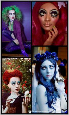 """Oi meninas. Segundo post da série EspecialHalloween, e hoje vamos falar sobre maquiagem. Muitas vezes podemos criar uma """"fantasia"""" bem criativa e sem envolver grandes custos apenas com…"""