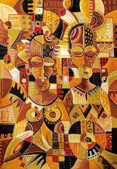 Eye Candy - African Style - African Art