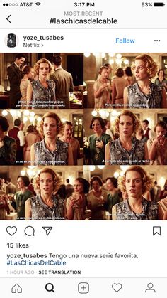 Las chicas del cable Series Movies, Movies And Tv Shows, Tv Series, Girl Memes, Girl Quotes, Downton Abbey, Love Movie, Movie Tv, Gran Hotel