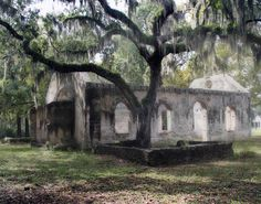 Chapel of Ease (abandoned) - St. Helen's Island, South Carolina