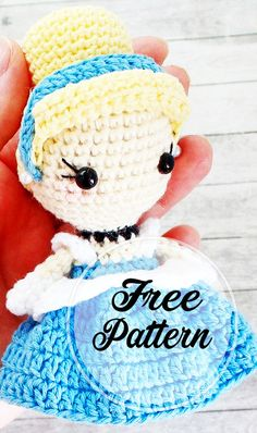 of the round/row ( = repeat whatever is between the brackets the number of times stated Body + legs With white yarn: Crochet Unique, Crochet Motif, Free Crochet, Knit Crochet, Crochet Patterns, Amigurumi Doll, Amigurumi Patterns, Amigurumi Minta, Amigurumi Free
