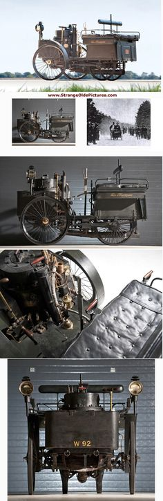 WORLDS OLDEST RUNNING CAR SELL FOR $4.62 MILLION - 1884 De DION BOUTON et TREPARADOUX STEAM RUN-A BOUT