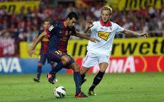 Five unforgettable moments from Sánchez Pizjuán | FC Barcelona