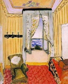 Matisse, Chambre avec vue sur la mer, 1917-1918, Philadelphia Museum of Art, USA