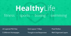 Hey guys, what do you think about it?  If you like it, you can buy it from Theme Forest:  http://themeforest.net/item/healthy-life/6720766  Of course, this is just the PSD version, we work at HTML and Wordpress version as well.