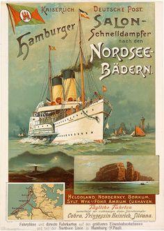 NL Nordsee Linie. Buque Cobra (1889)