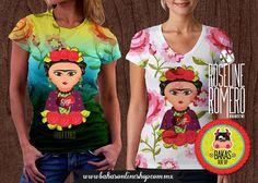 little frida Women's T Shirt Playera T-shirt Frida