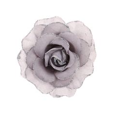 Grey Glitter Rose Hair Clip , Hair, Hair, Bridesmaid, Special Occasion, Winter Greys, Flowers, Your Fave's, all, Hair, Clips & Grips, Queen Elsa, Trends, What's Hot, Accessories, Inspire Me..., Bridal, Hair, Occasion Fashion trends, accessories and jewellery for young women