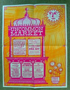 uncommon market poster