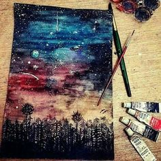 Uploaded by juliette. Find images and videos about art, painting and drawing on We Heart It - the app to get lost in what you love.