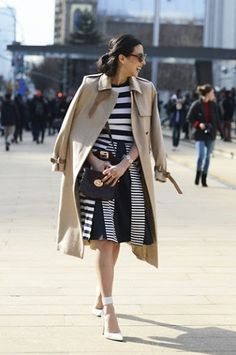 36 Inspiring Wear A Trench Coat In Spring And Summer