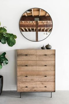"36""W + 20""D + 46""H INDUSTRIAL STEEL + BIRCH + RECLAIMED OAK POLY + RAW FINISH //CUSTOMIZE THIS PIECE This Dresser is Custom Made in Los Angeles. Industrial steel casing is sheered to size and attached"