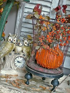 **ChiPPy!-SHaBBy!** FALL VIGNETTE w/A Hint of InDuStriAL...