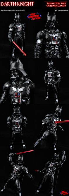 My Custom Darth Knight action figure.