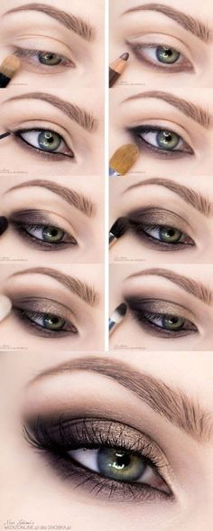 15 Step-By-Step Smoky Eye Makeup Tutorials for Beginners 2009d27508e