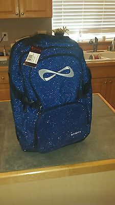 Limited Edition Royal Blue Sparkle Nfinity Backpack