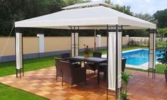 Groupon - Gazebo Milano 3m x 4m Pavilion for £160.00 With Free Delivery (18% Off). Groupon deal price: £160