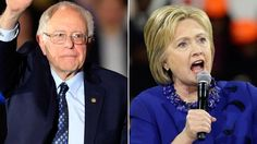 "Fresh off a series of weekend victories in state caucuses, Bernie Sanders turned up the heat on Hillary Clinton at Sunday's debate in Flint, Mich., sharply challenging her economic credentials and suggesting her gun control stand would ban guns in America. But the Democratic front-runner fought back, blasting him for voting against the auto bailout, dismissing him as a ""one-issue candidate"" and hitting him once again for his stance on guns."