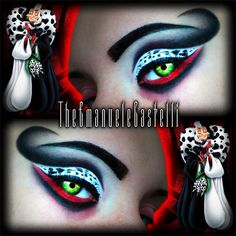 Disney's Villain - Cruella De Vil Make Up