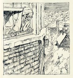 """""""The Night Before Christmas"""" with Illustrations by Arthur Rackham"""