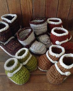 Boots 'n Booties Crochet Pattern