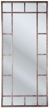 Mirror Window Iron 200x90cm