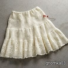 Crochet skirt ♥LCS-MRS♥ with diagrams