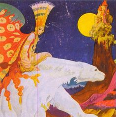 'East of the Sun and  West of the Moon' , illustrated by Kay Nielsen (1886 –1957, Danish)