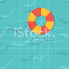 seamless pattern swimming pool. Top view. Flat design. royalty-free stock vector art Free Vector Art, Top View, Flat Design, Swimming Pools, Royalty, Pattern, Image, Pools, Swiming Pool
