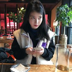 Korean Celebrities, Celebs, Korean Girl, Asian Girl, Warner Music, Iu Fashion, Korean Actresses, Ulzzang Girl, Me As A Girlfriend