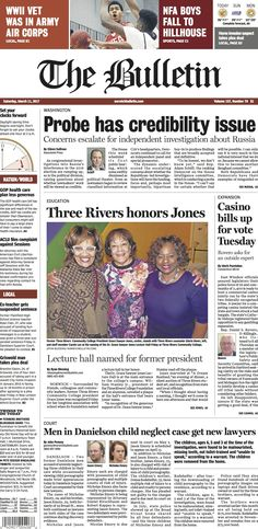 Saturday, March 11, 2017 - Subscribe to The Bulletin today: http://www.norwichbulletin.com #ctnews #newlondoncounty #windhamcounty