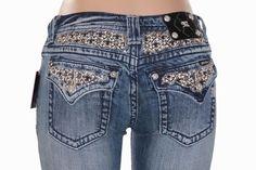 b41612f6418b MISS ME Jeans Sale New Low Rise Cropped Capri Stretch Flap Pocket Fleur Jean  25