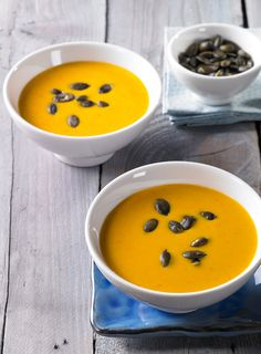 Leckere Suppe vom Kürbis für kalte Tage