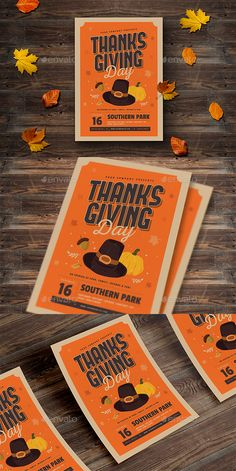 Thanksgiving Flyer Thanksgiving flyer this flyer perfect for your november special event, you can use this flyer for what ever you want. SpesificationAll elements are included A4 size Psd file Free font used Well organized layers Full editable CMYK 300 DPIFont used Passion One Forque Nexa rust Scriptdon¡¯t forget to rate this file ENJOY
