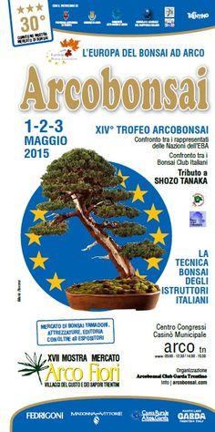 Dall'1 al 3 maggio 2015 torna l'Europa del Bonsai ad Arco con la manifestazione Arcobonsai @gardaconcierge